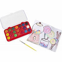 Deluxe Watercolor Paint Set (21 colors)
