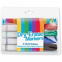Dry-erase Marker Set (4 PC