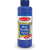 Blue Poster Paint (8 oz)