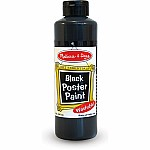 Black Poster Paint (8 Oz)
