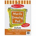 Manila Drawing Pad