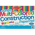 Jumbo Multi-Color Construction Pad