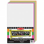 6 Piece Poster Board Pack