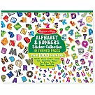 Sticker Collection, Alphabet and Numbers