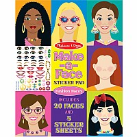 Make-a-face Sticker Pad by Melissa & Doug