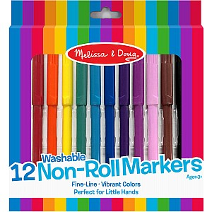 12 Non-Roll Markers