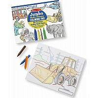 "Jumbo Coloring Pad  Blue (11"" x 14"")"