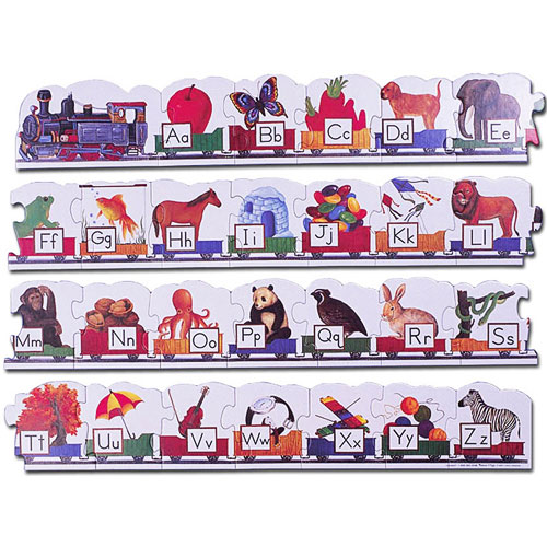 Puzzle Alphabet Train Floor Imagine That Toys