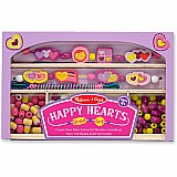 Happy Hearts Wooden Bead Set