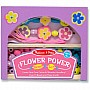 Melissa and Doug: Flower Power Bead Set