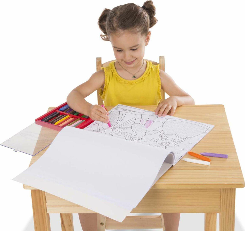 M&D Jumbo Coloring Pad - Princess & Fairy - Just Imagine Toys