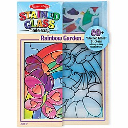 Melissa and Doug Rainbow Garden Stained Glass craftivity
