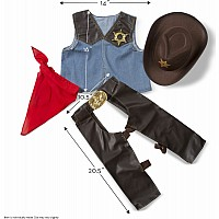 Cowboy Role Play Costume