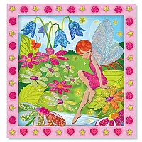 Peel & Press Sticker by Number - Flower Garden Fairy