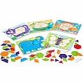 Animal Pattern Blocks Set - Melissa & Doug 4382