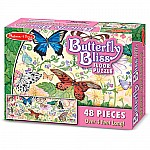 Butterfly Bliss Floor Puzzle - Melissa and Doug