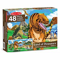 48 pc Land of Dinosaurs Floor Puzzle