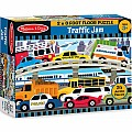 Traffic Jam Floor Puzzle (24 PC)