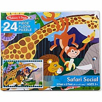 Safari Social Floor Puzzle