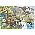 Endangered Species Floor Puzzle 48 PC