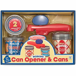 Can Opener & Cans