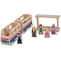 Whittle World  Train Platform Play Set