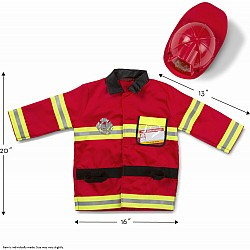 COSTUME SET FIRE CHIEF