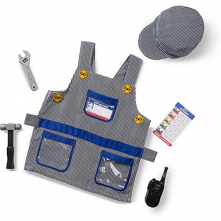 Train Engineer Role Play Costume Set