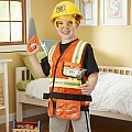 Construction Worker Costume Set