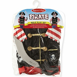 Pirate Costume Role Play Set