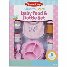 Mine to Love - Baby Food & Bottle Set