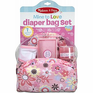 Doll Diaper Changing Set