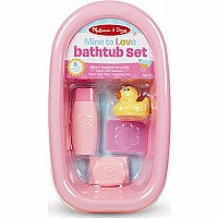 Mine to Love - Doll Bathtub Set