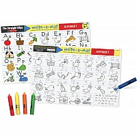 Alphabet Learning Mat