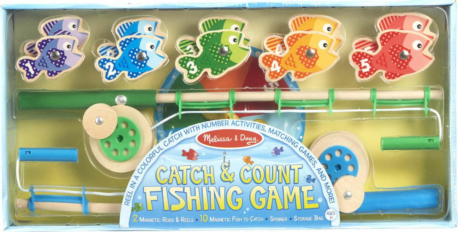 Catch and count fishing game fun stuff toys for Catch and count fishing game