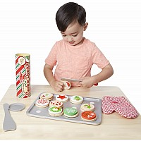 Slice and Bake Christmas Cookie Play Set