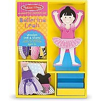 Ballerina Leah - Magnetic Dress Up