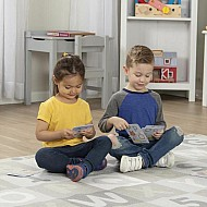 Neutral Jumbo Abc - 123 Rug