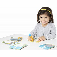 WaterWOW! Splash Cards Shapes, Numbers and Colors