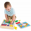 Beginner Pattern Blocks - Melissa & Doug 528
