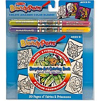 Blendy Pen - Coloring Book Princess and Fairies