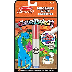 Melissa & Doug color blast dinosaur book