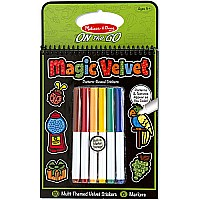 Magic Velvet Stickers  Multi