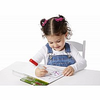 On the Go ColorBlast No-Mess Coloring Pad - Animals