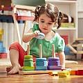 Geometric Stacker Wooden Toy - Melissa & Doug 567