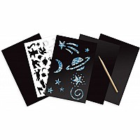 Holographic Scratch Art Combo Pack