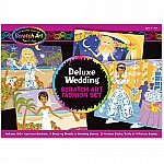 Deluxe Wedding Scratch Art Set