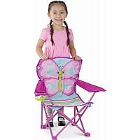 Cutie Pie Butterfly Camp Chair