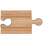 "2"" Wooden Straight Track (6 pack)"