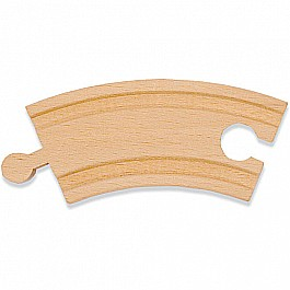 "3 1/4"" Curved Track (comes in 6-pack which is item 694)"